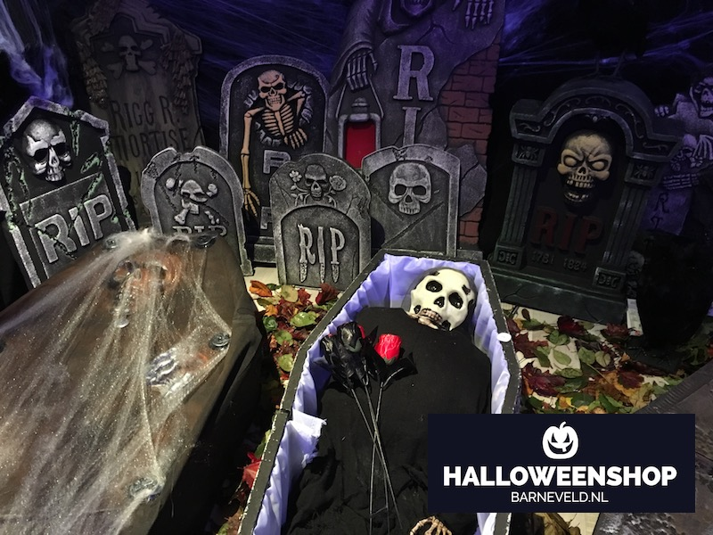 Halloween Begraafplaats - Showroom 2017