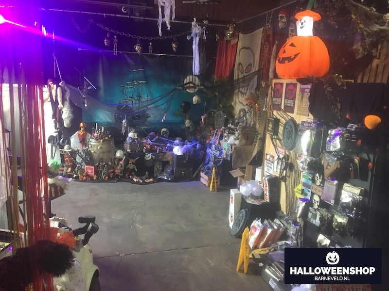 Halloween 2018 - Showroom overzicht 1